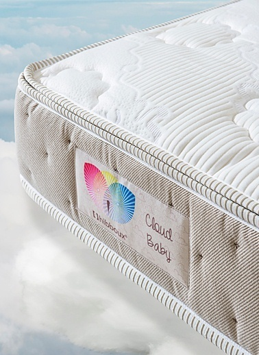 Hibboux Cloud Baby Pocket Yaylı Yatak 70x130 Cm Renkli